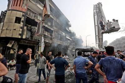 Ataque suicida en una zona comercial de Bagdad, luego del fin de Ramadam. - ALI ABBAS
