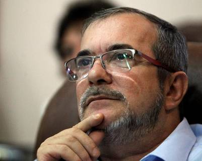 """El máximo líder de las FARC, Timoleón Jiménez, """"Timochenko"""" , sigue los resultados del plebiscito en Colombia, desde La Habana. / EFE"""