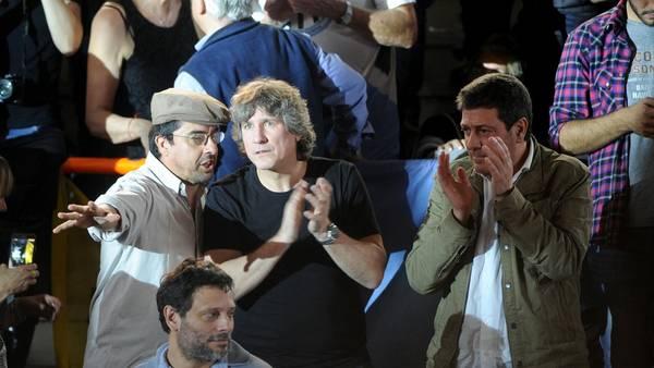 Amistad militante. Fernando Esteche y Amado Boudou se encontrarán este jueves en La Plata