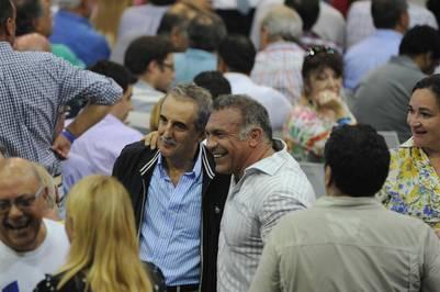Guillermo Moreno, en el último Congreso del PJ en Obras.