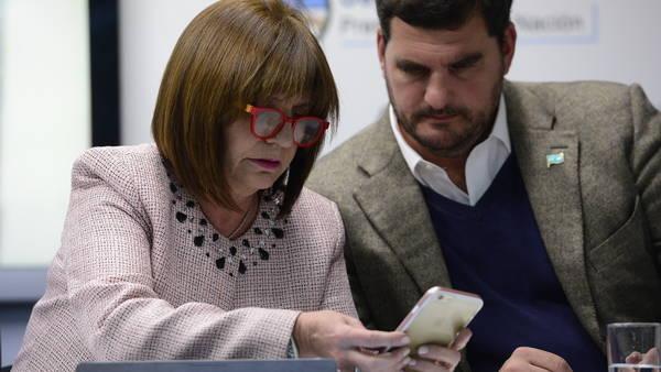 La ministra de Seguridad le respondióa  Cristina en Twitter. (David Fernández)