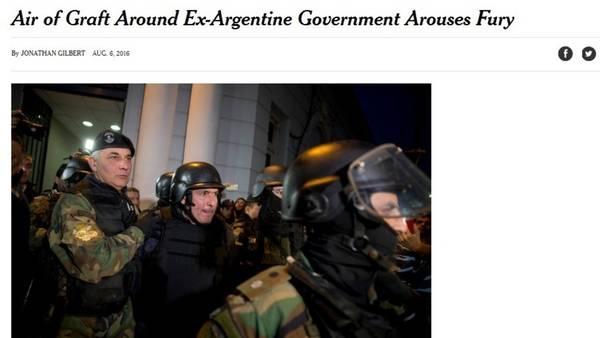 El artículo con foto de José López