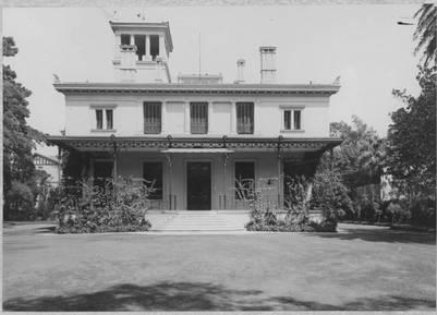 La casa en la que vivió Alvear durante buena parte de la década de 1920, en Belgrano | AGN