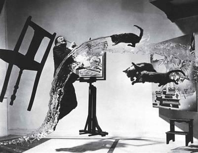 """""""Dalí Atómico"""" por Philippe Halsman, 1946."""
