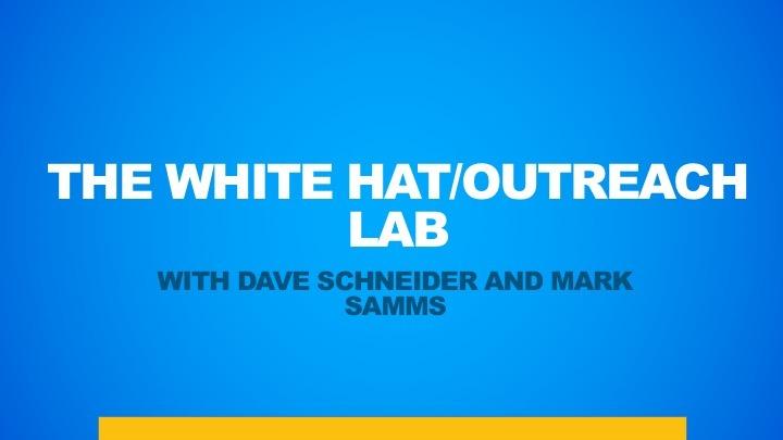 [Image: WHITE-HAT-LAB.jpg]