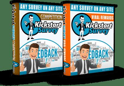 kickstart survey sale funnel