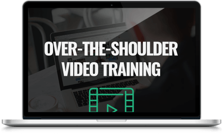 OVER-THE-SHOULDER VIDEO TRAINING