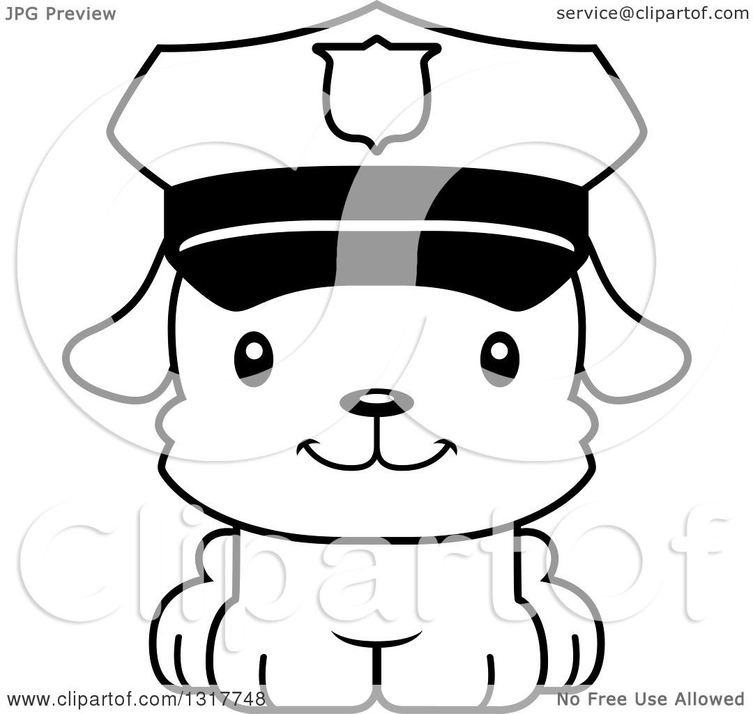 Clipart Polouse Officer