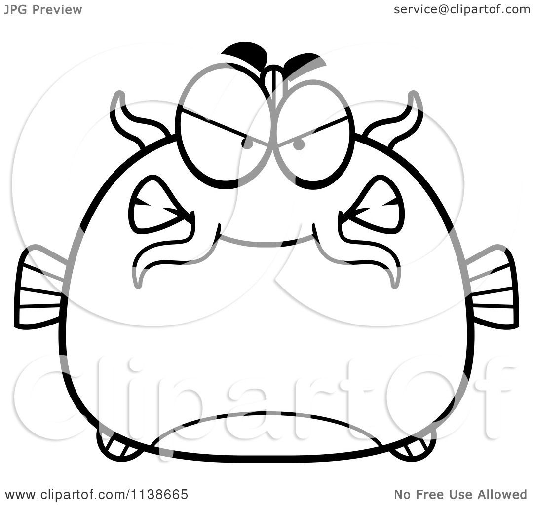 Catfish 18 Coloring Page Supercoloringcom Sketch Coloring Page