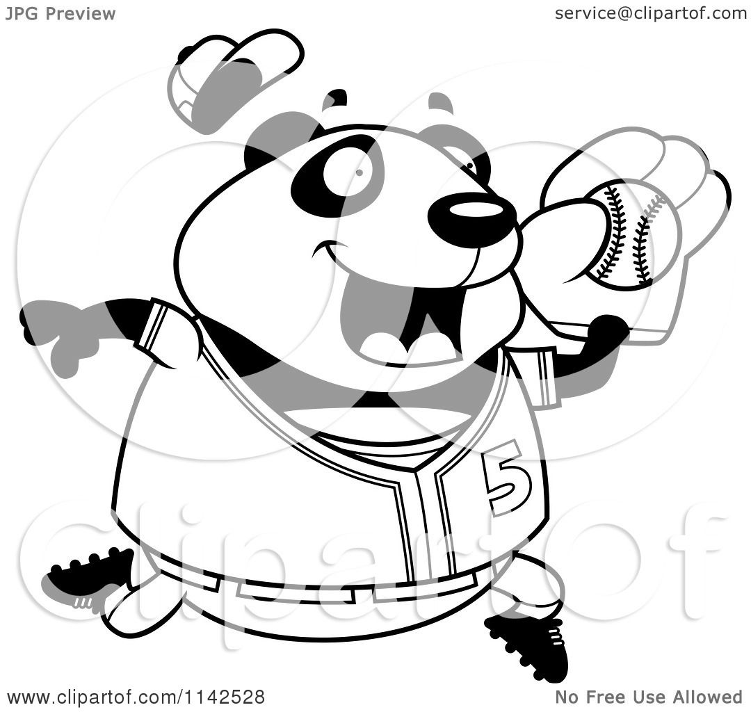 Baseball Cartoon Clipart