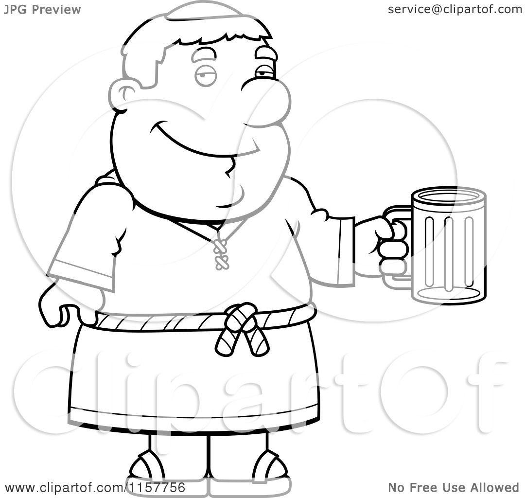 Cartoon Beer Mug