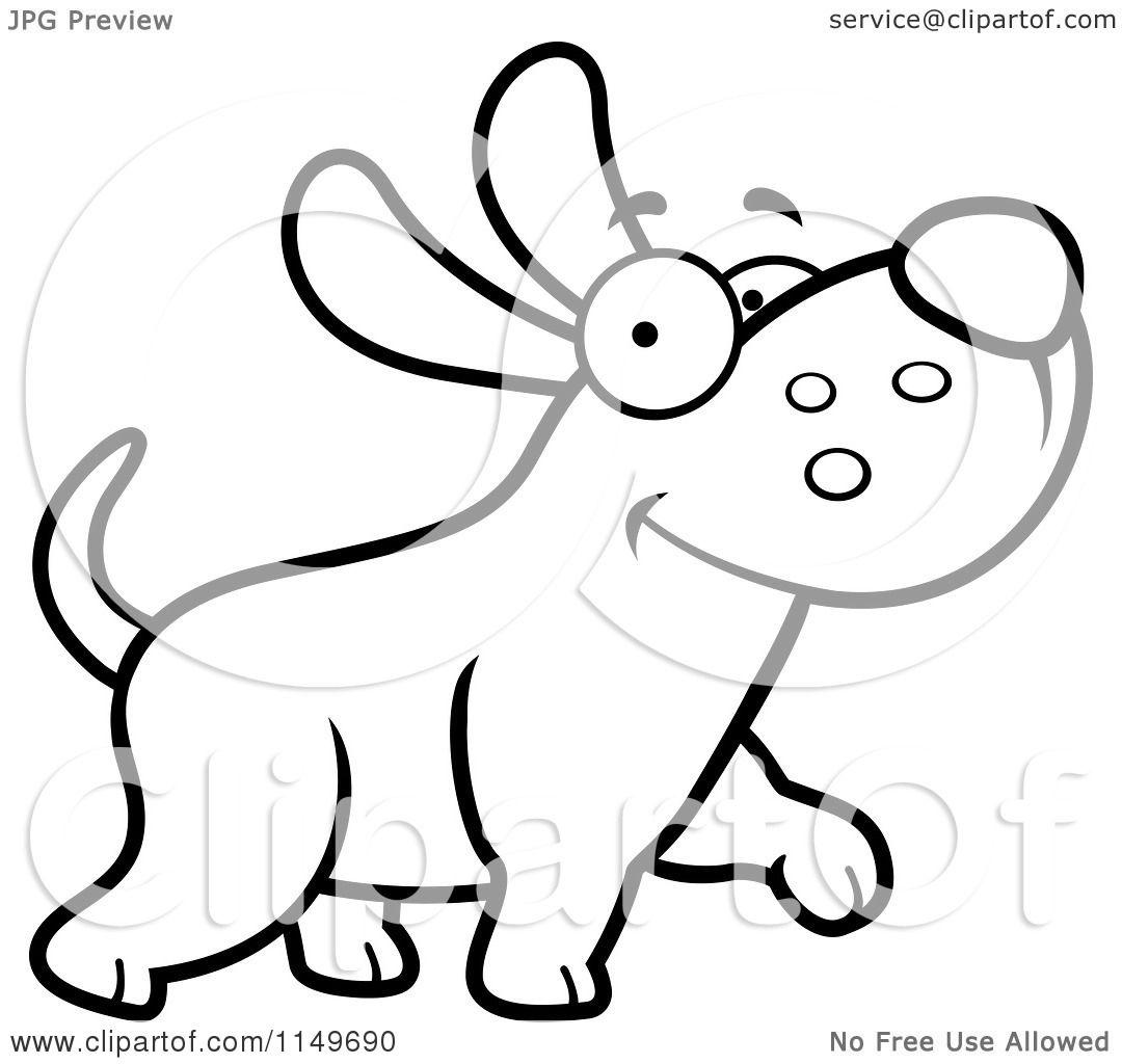Cartoon Dog Dog