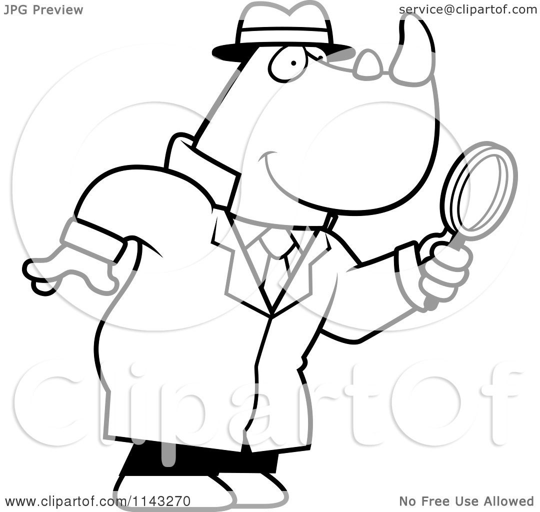 Looking With Magnifying Glass