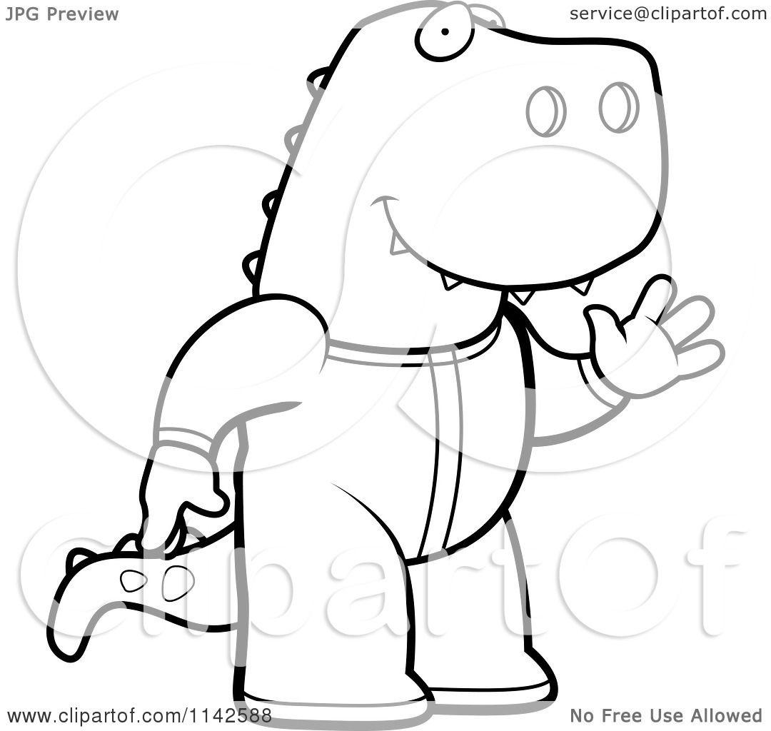 Cartoon T Rex