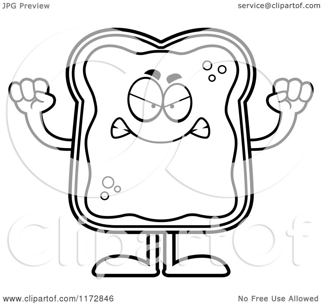 French Toast Coloring Page Coloring Pages