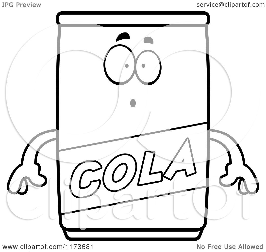 Cartoon Coloring Page Coca Cola Bottles Coloring Pages