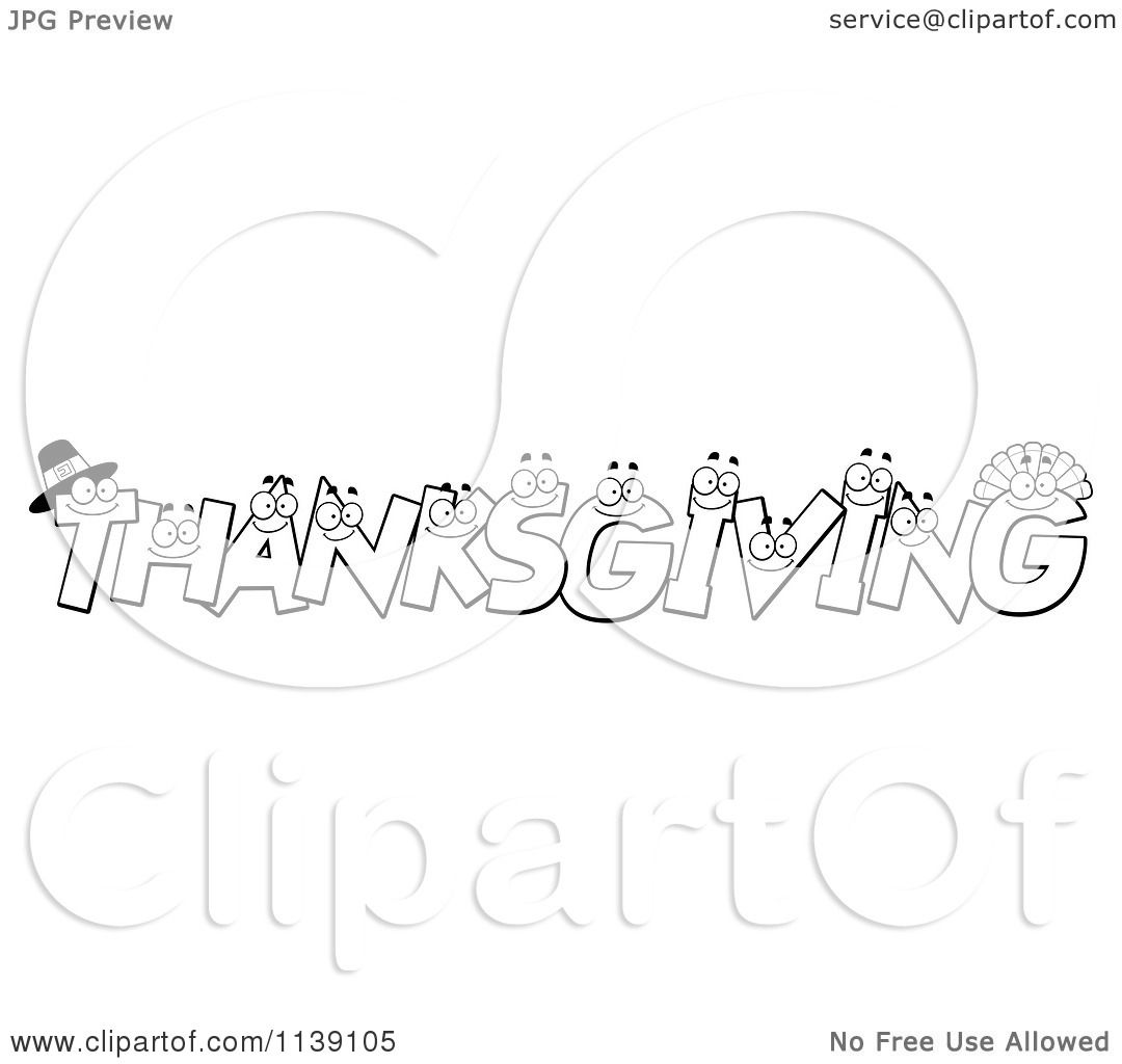 Thanksgiving Clip Art Color