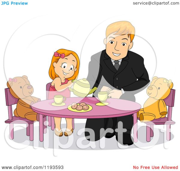 Father And Daughter Cartoons Cartoon Pictures