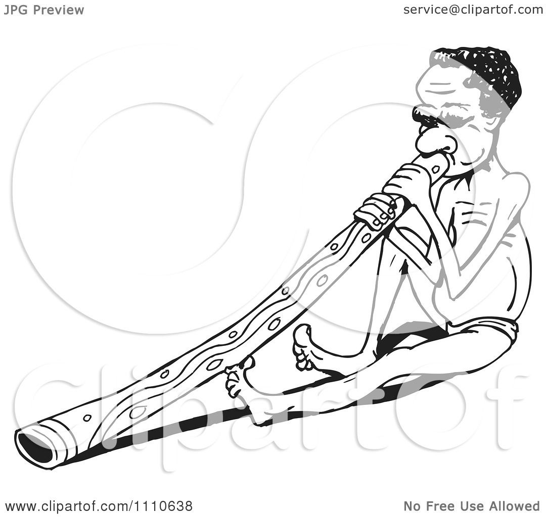 Didgeridoo Coloring Page Coloring Pages