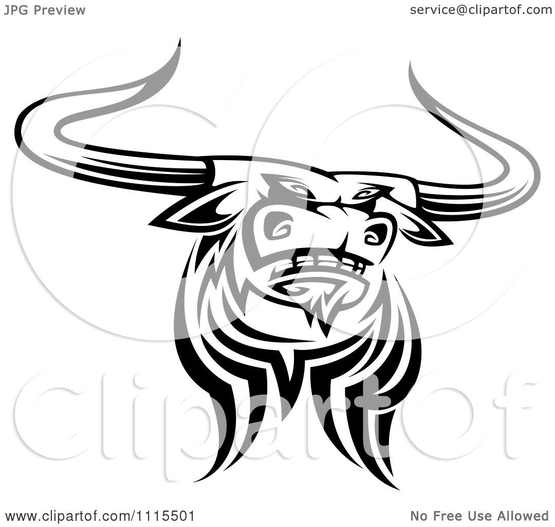 Clipart Longhorns Texas