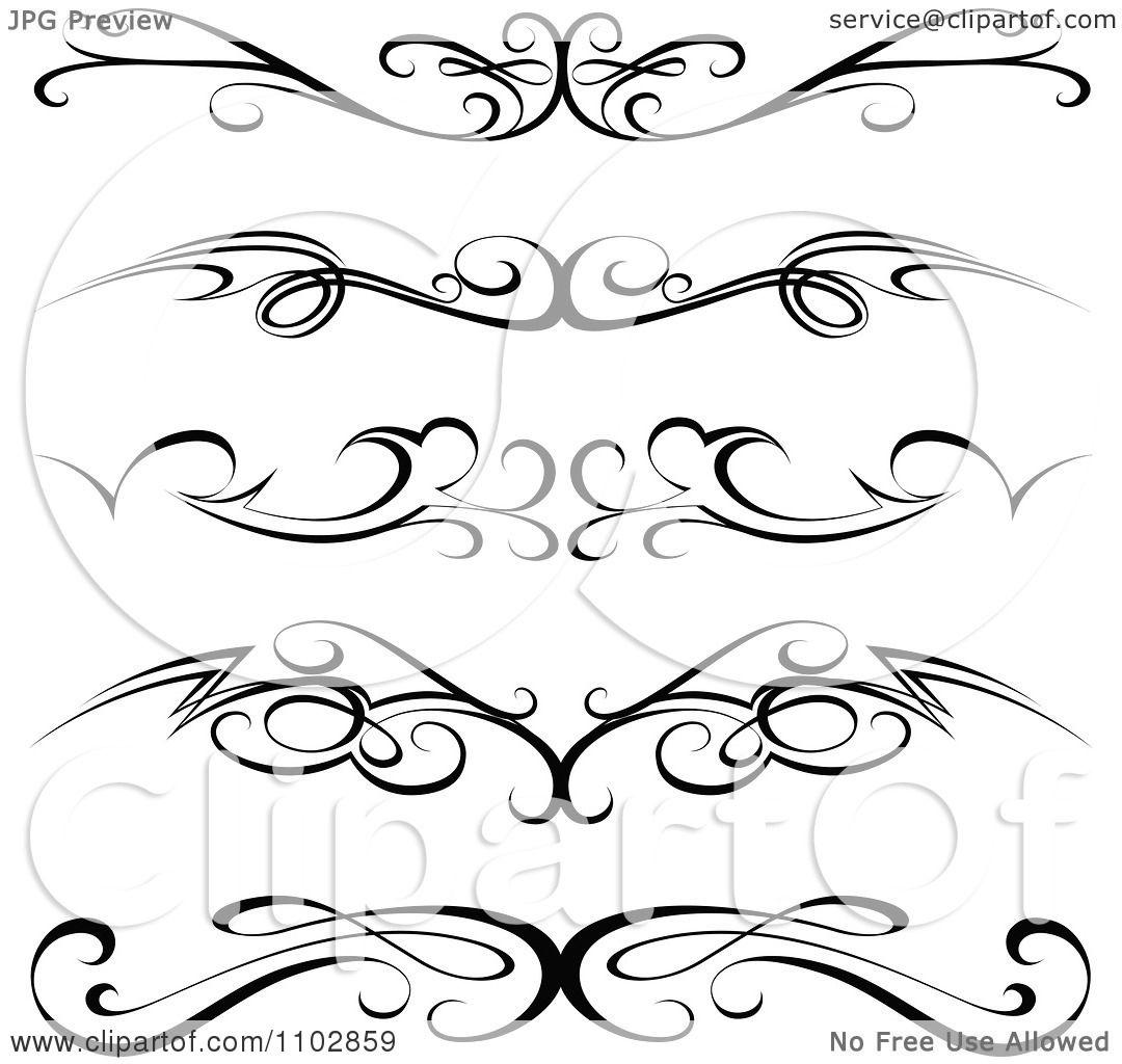 18 Tattoo Pinstripe Designs