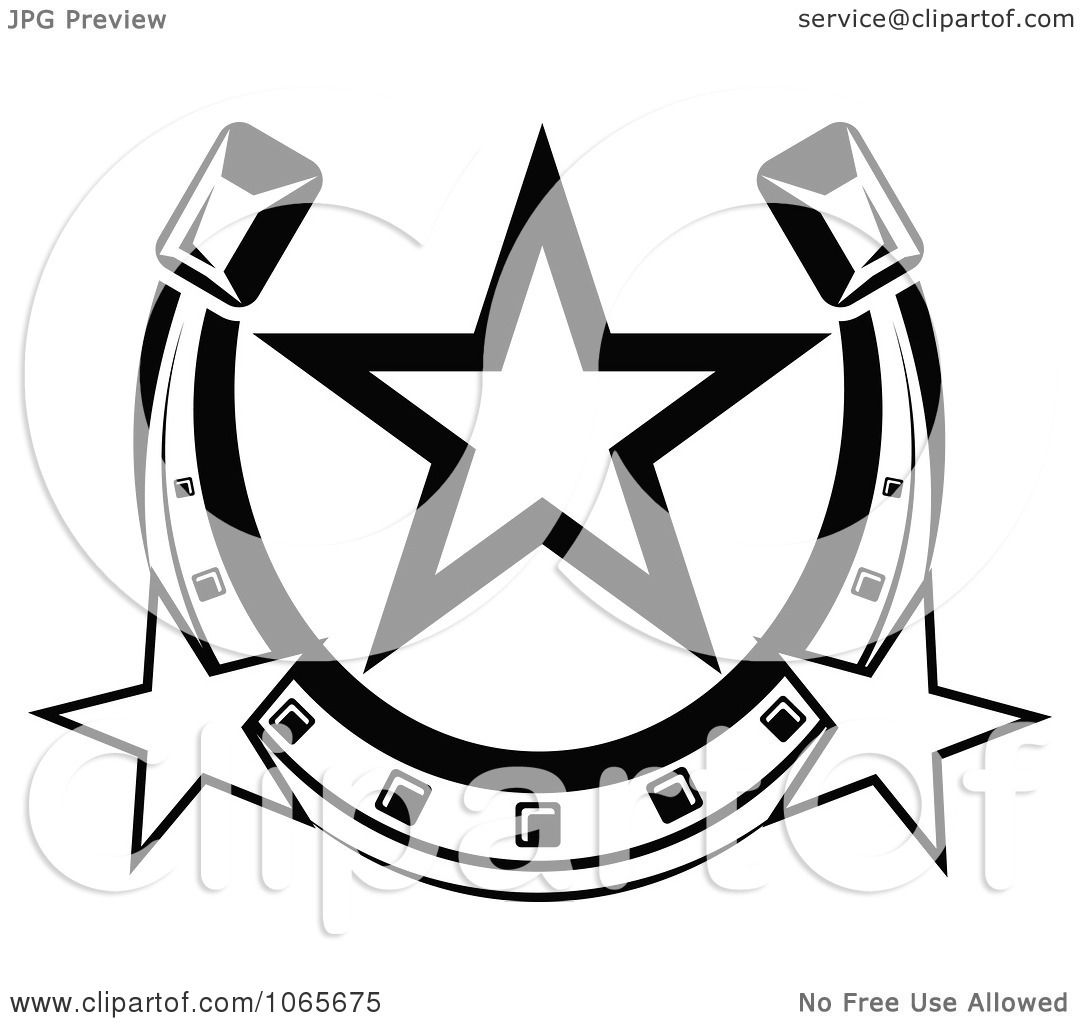 Clipart Horseshoe Icon 4