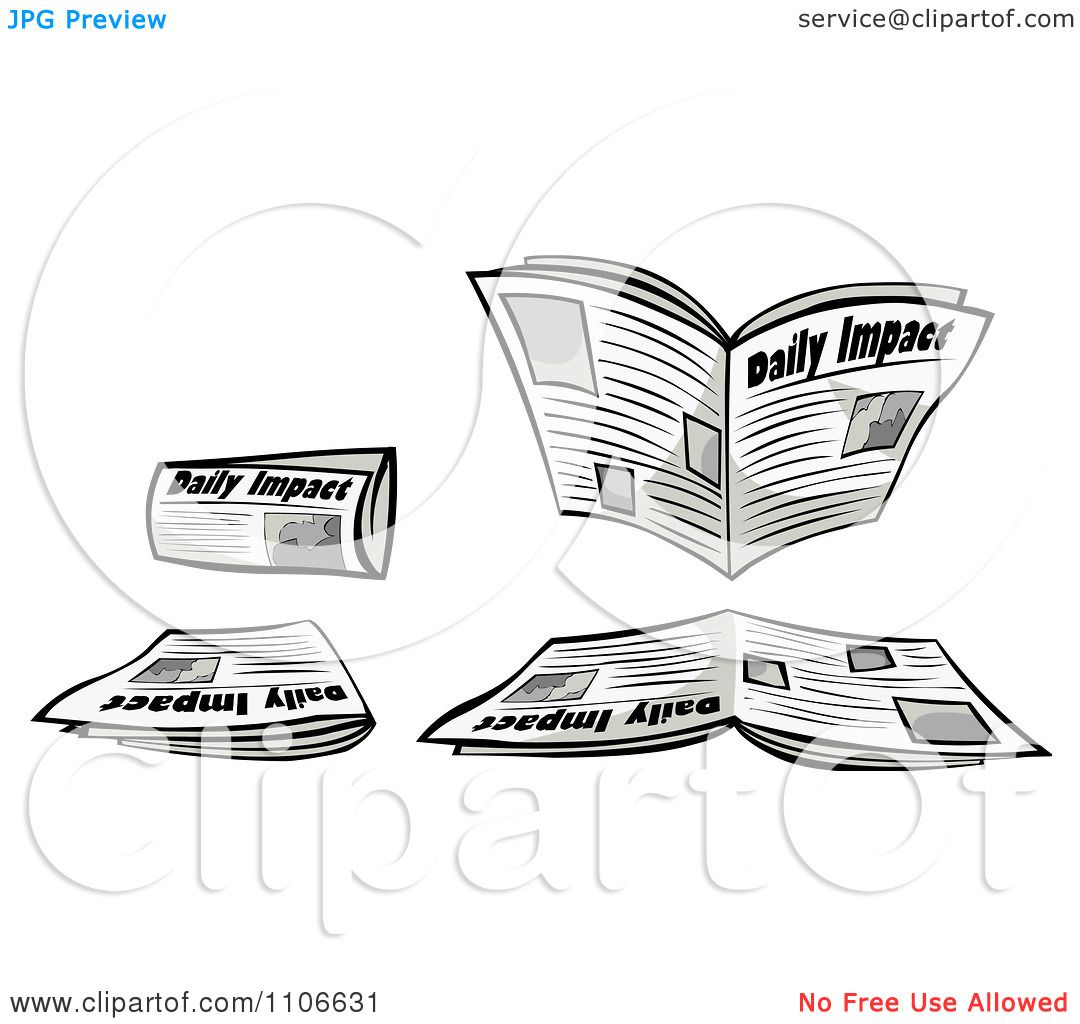 Clipart Newspapers