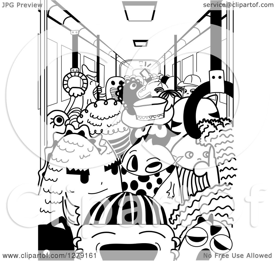 Subway Clipart