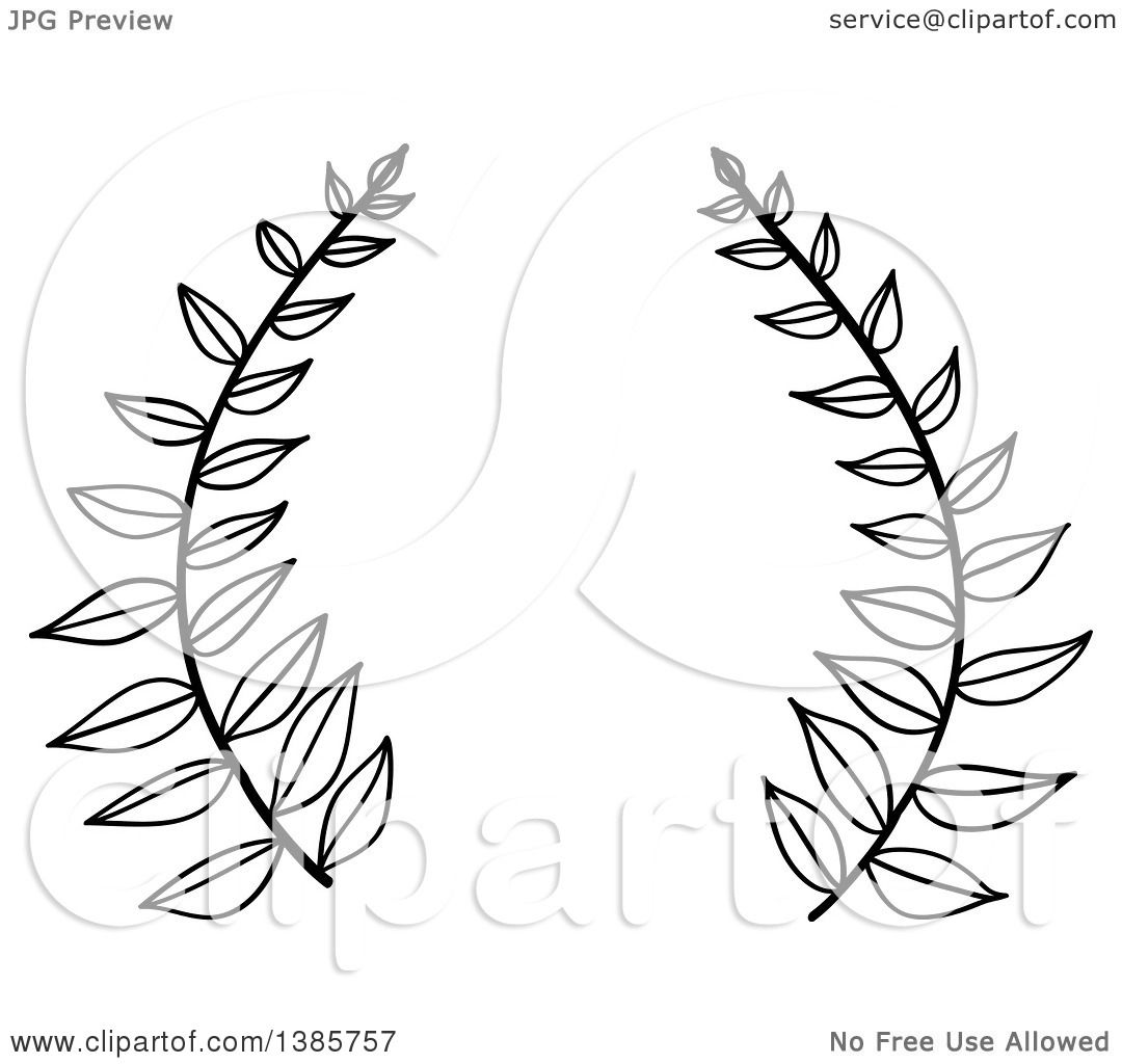 Leaf Clipart Black And White