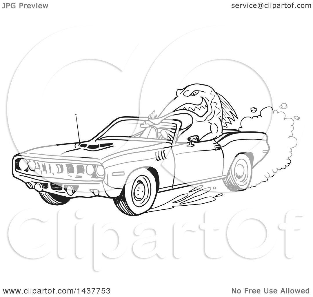 Plymouth Barracuda Coloring Page Coloring Pages