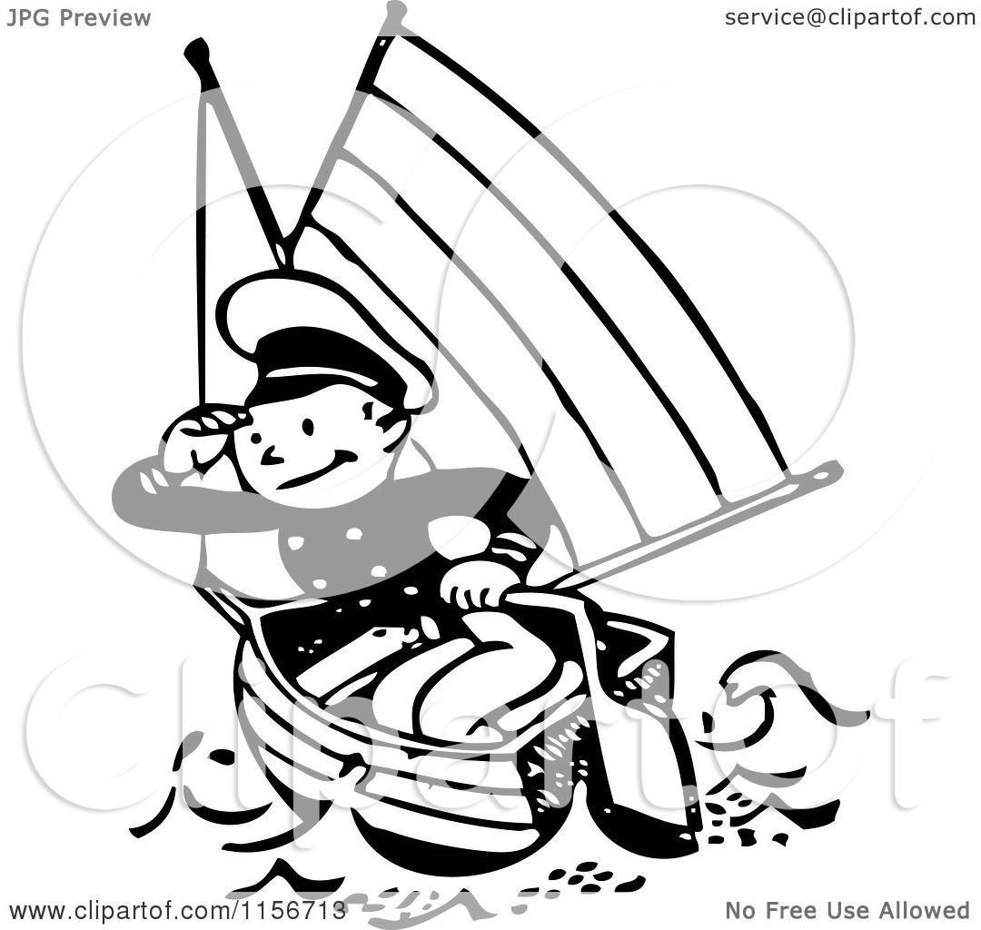 Sailor Clipart Boat