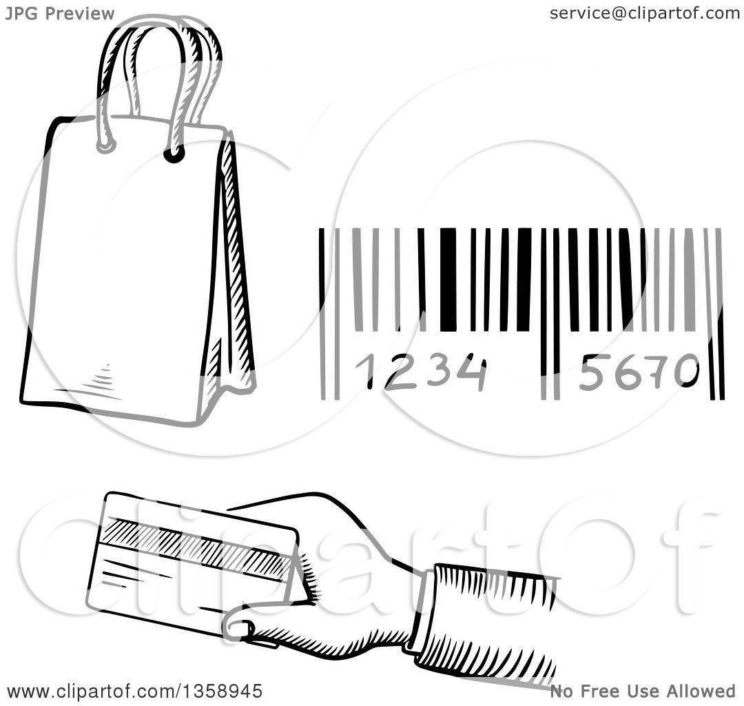 Black Holding Credit Card