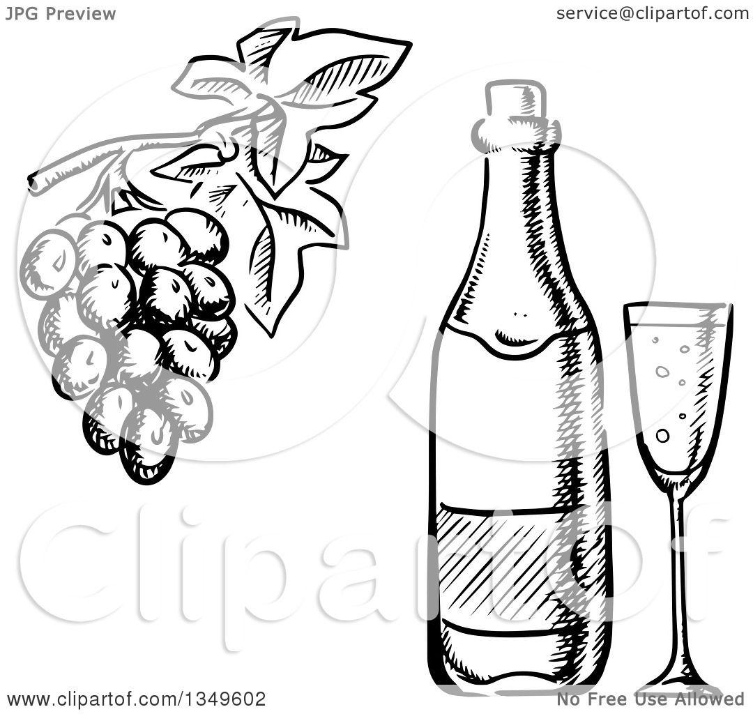 Wine Bottle Tree Pattern