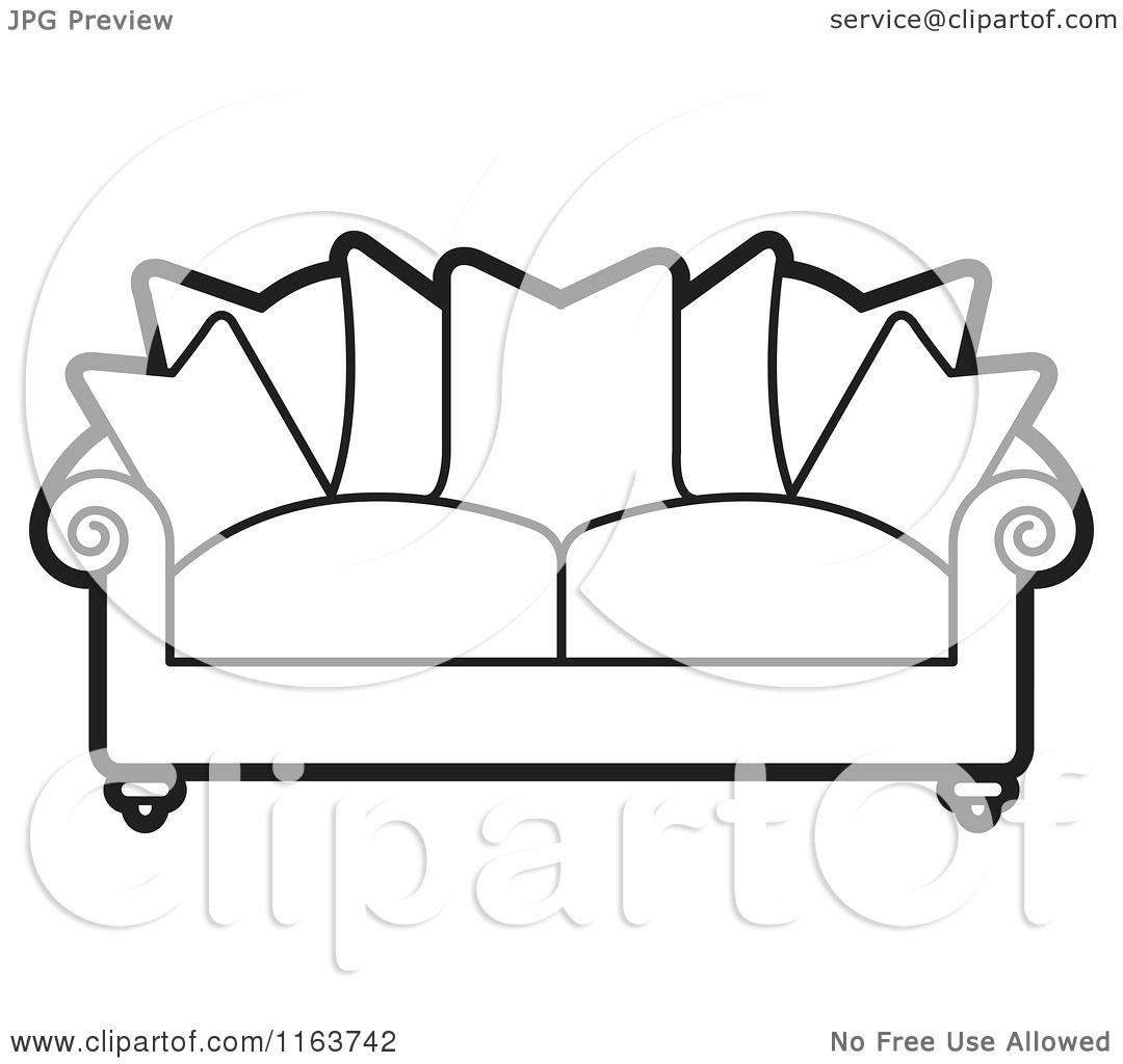 Black Oversized Chair