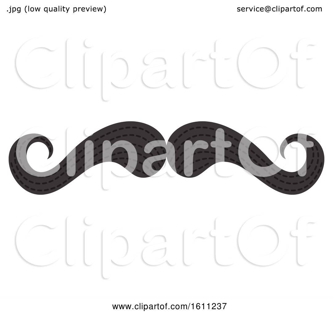 Clipart Of A Mustache