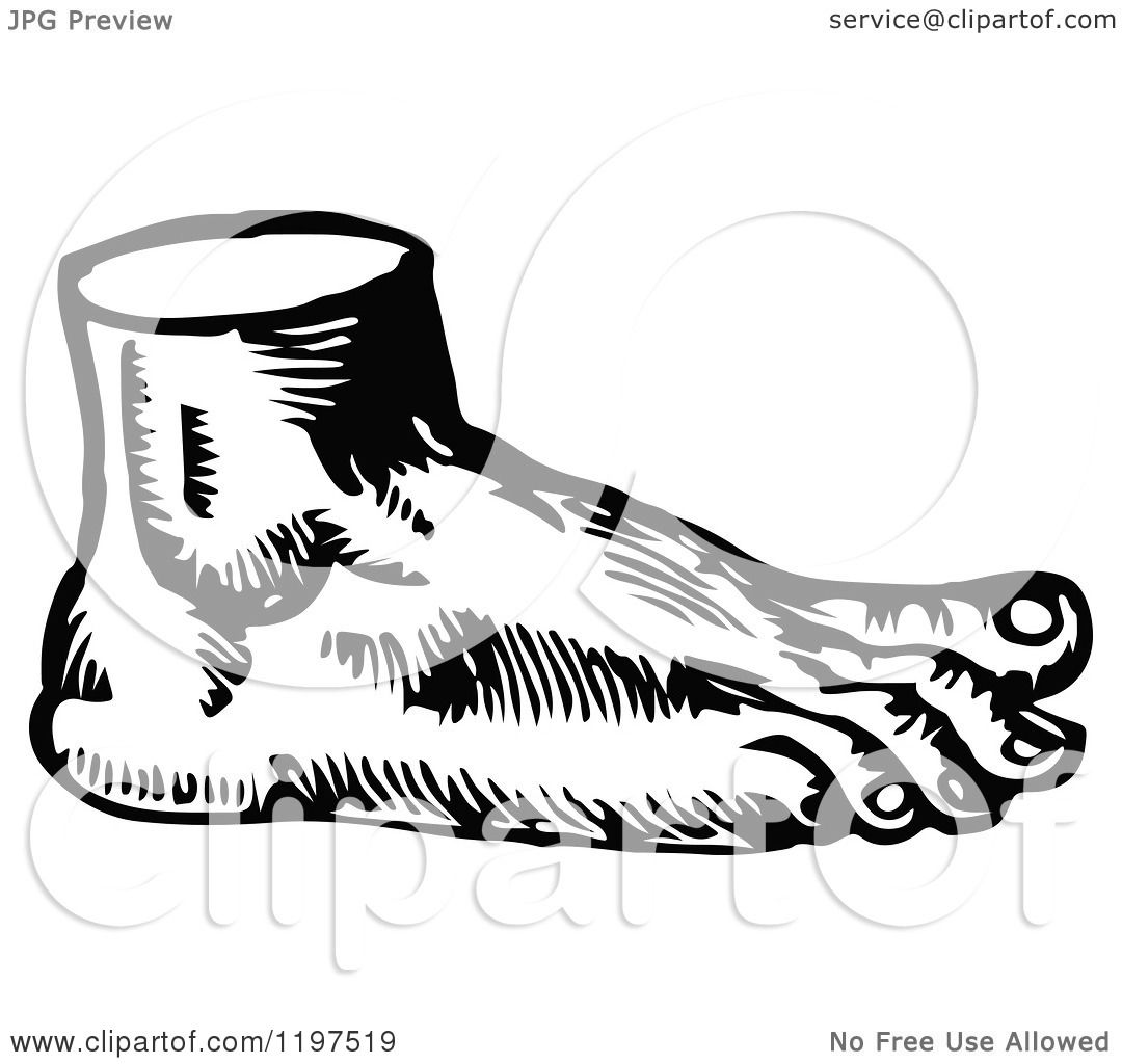 foot clipart