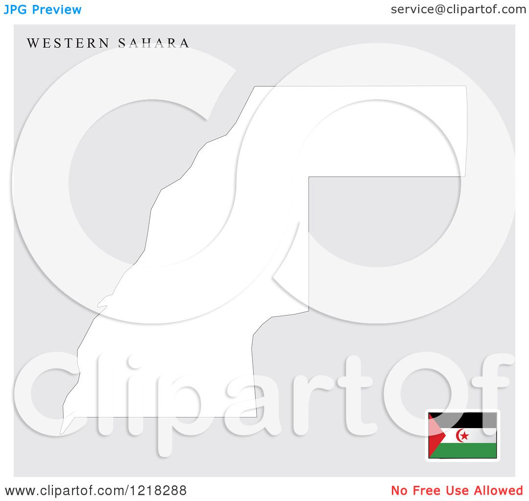 Western Sahara Flag Coloring Pages