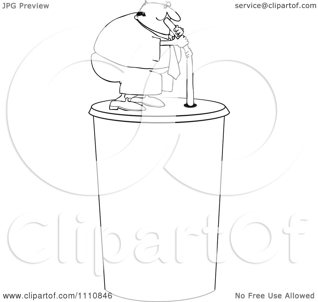 Drinking Clipart