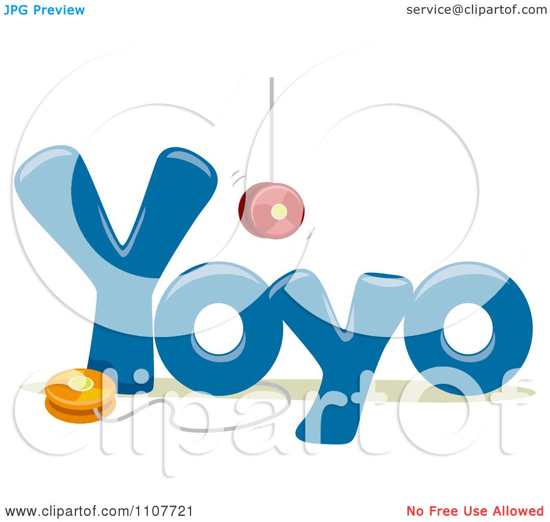Clipart The Word Yoyo For Letter Y
