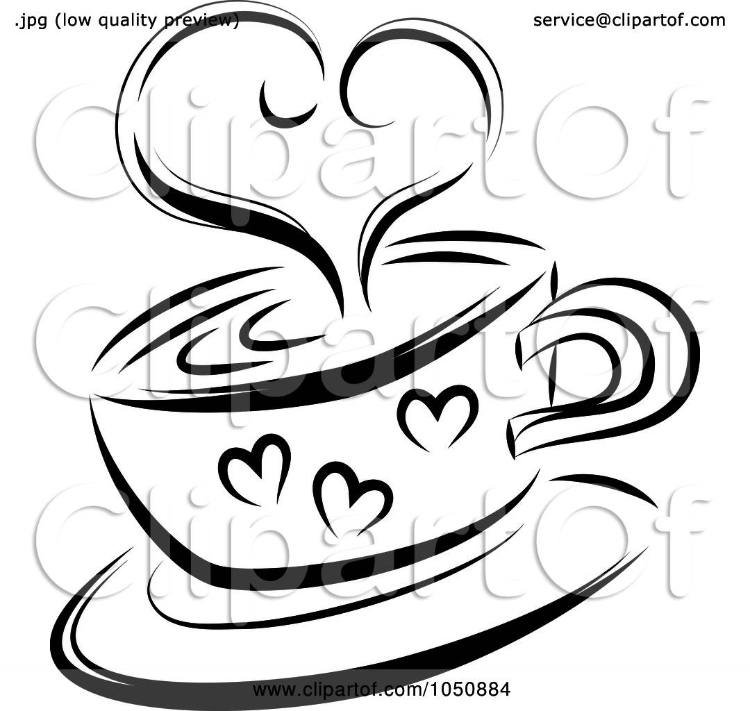 Royalty Free Rf Clip Art Illustration Of A Black And