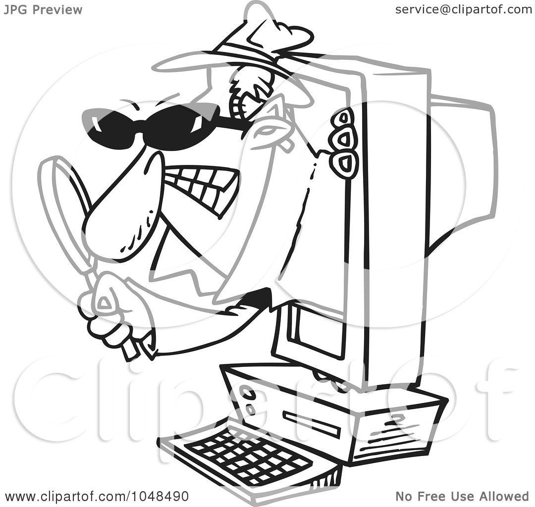Spyware Clip Art Cliparts