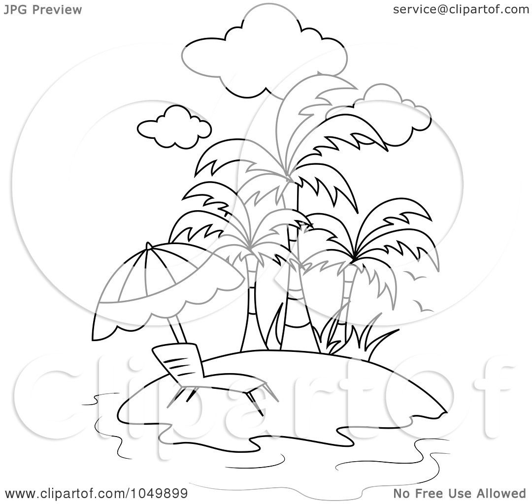 Royalty Free Rf Clip Art Illustration Of A Coloring Page
