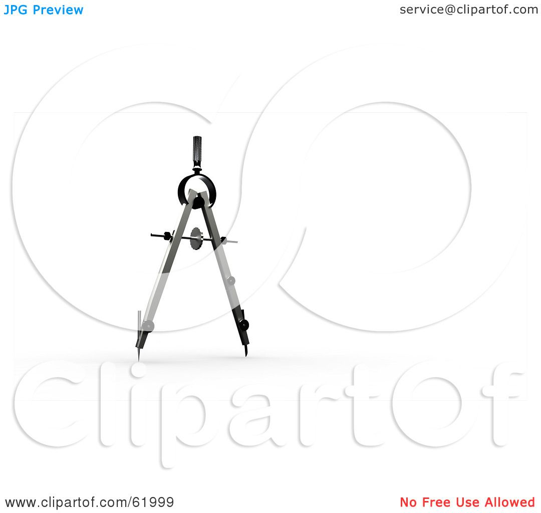 Royalty Free Rf Clipart Illustration Of A 3d Upright