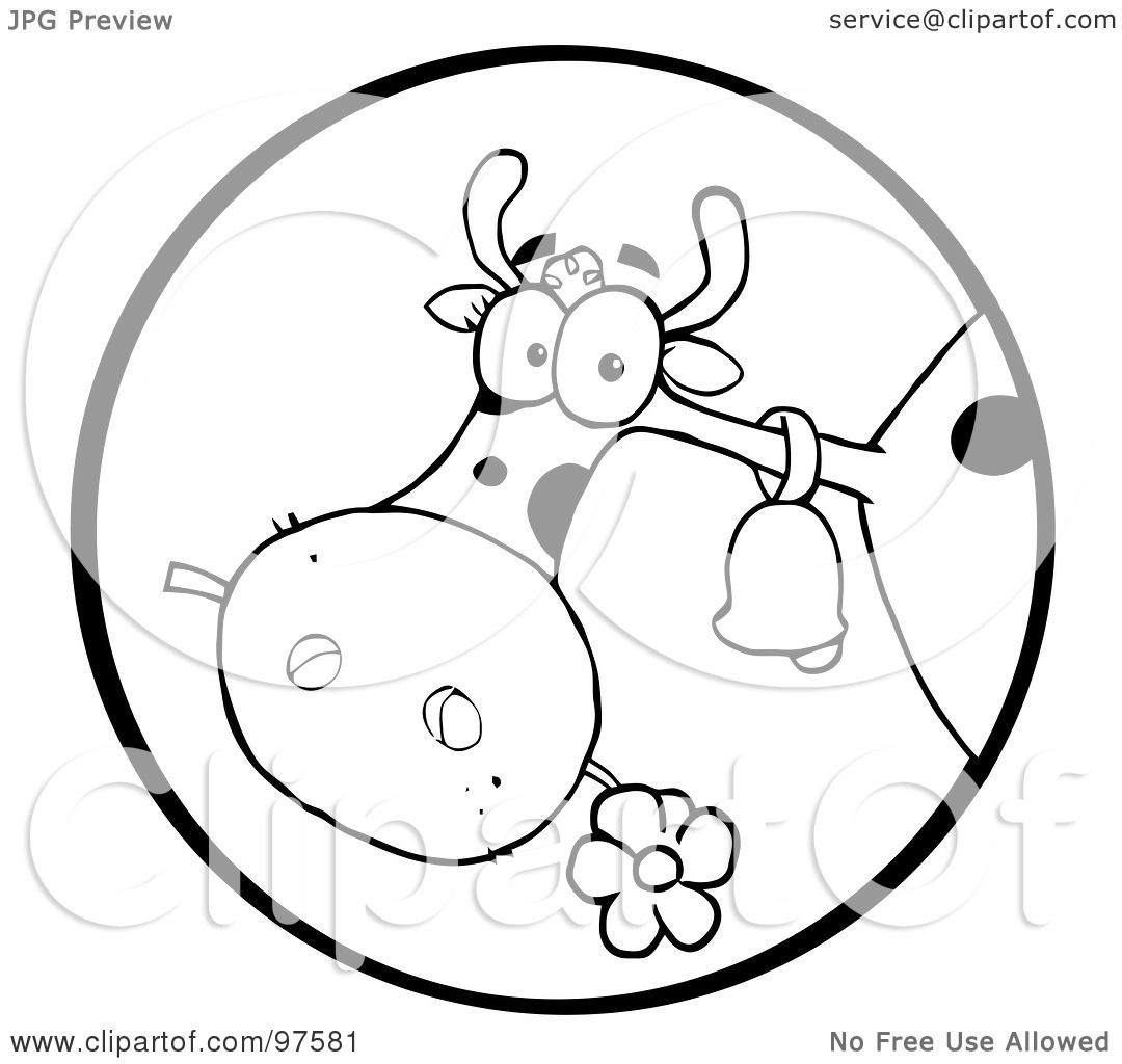 Clipart Of Cow