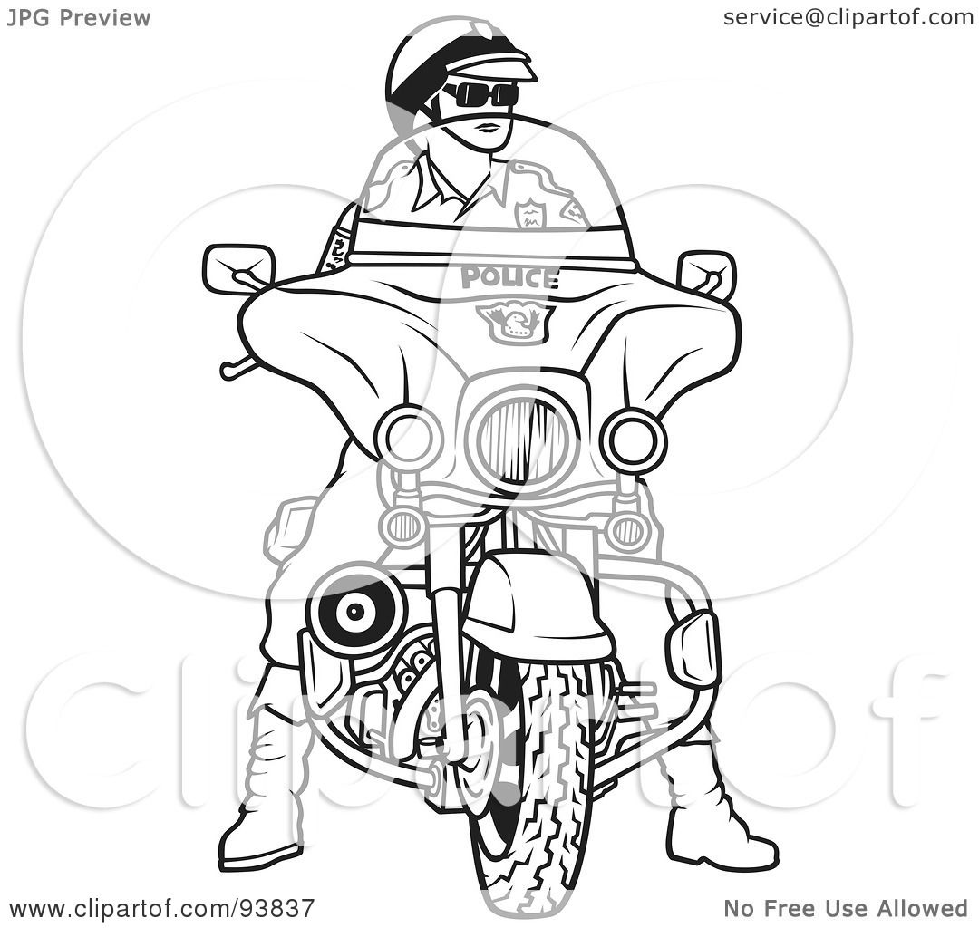 Clipart Polouse Officer