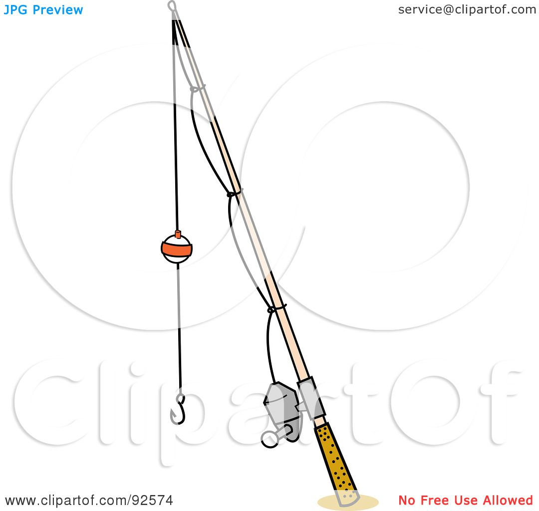 Royalty Free Rf Clipart Illustration Of A Bobber On A