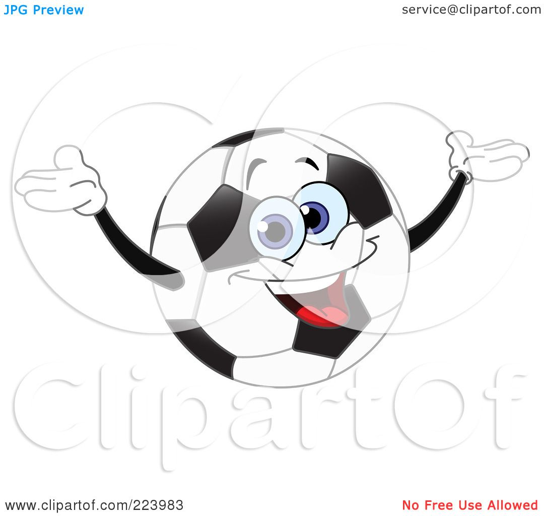 Royalty Free Rf Clipart Illustration Of A Cheerful