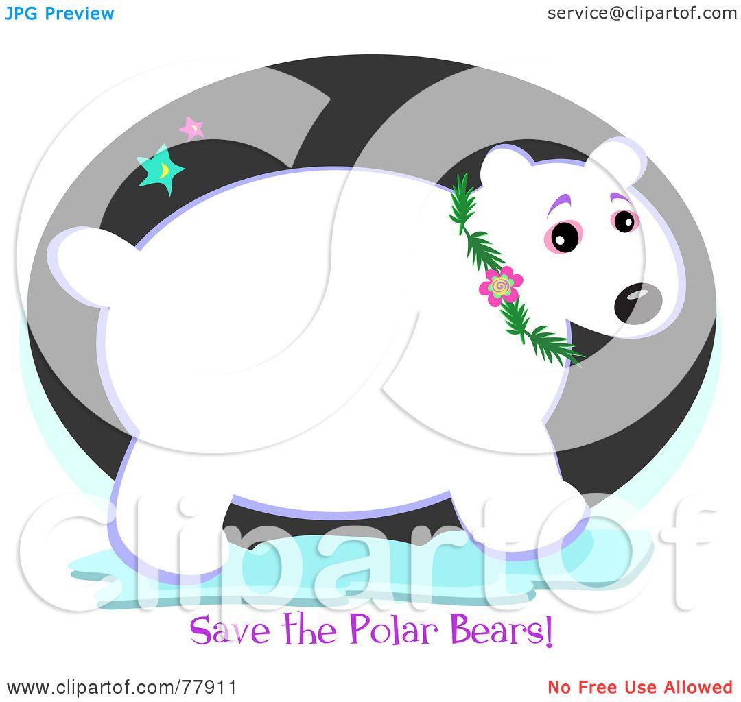 Royalty Free Rf Clipart Illustration Of A Chubby Polar