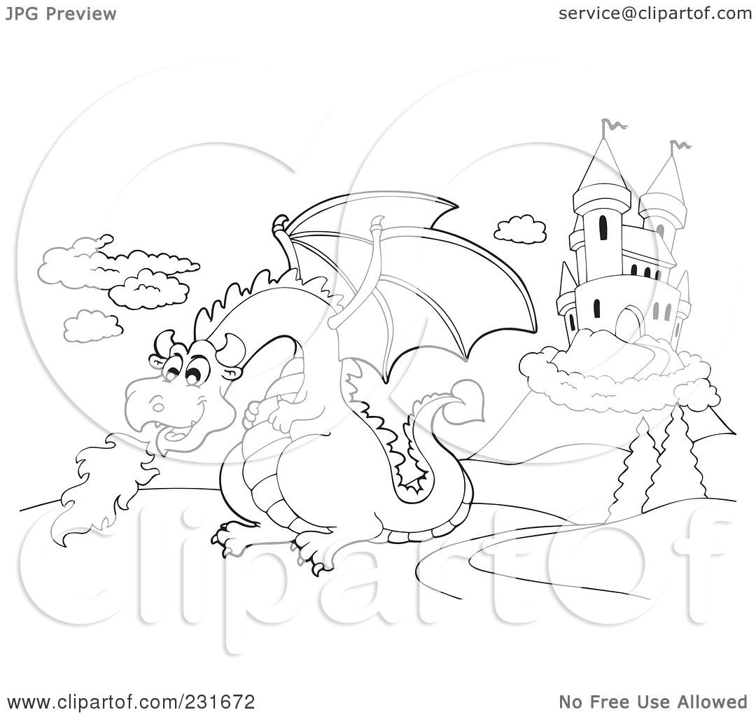 clipart dragon