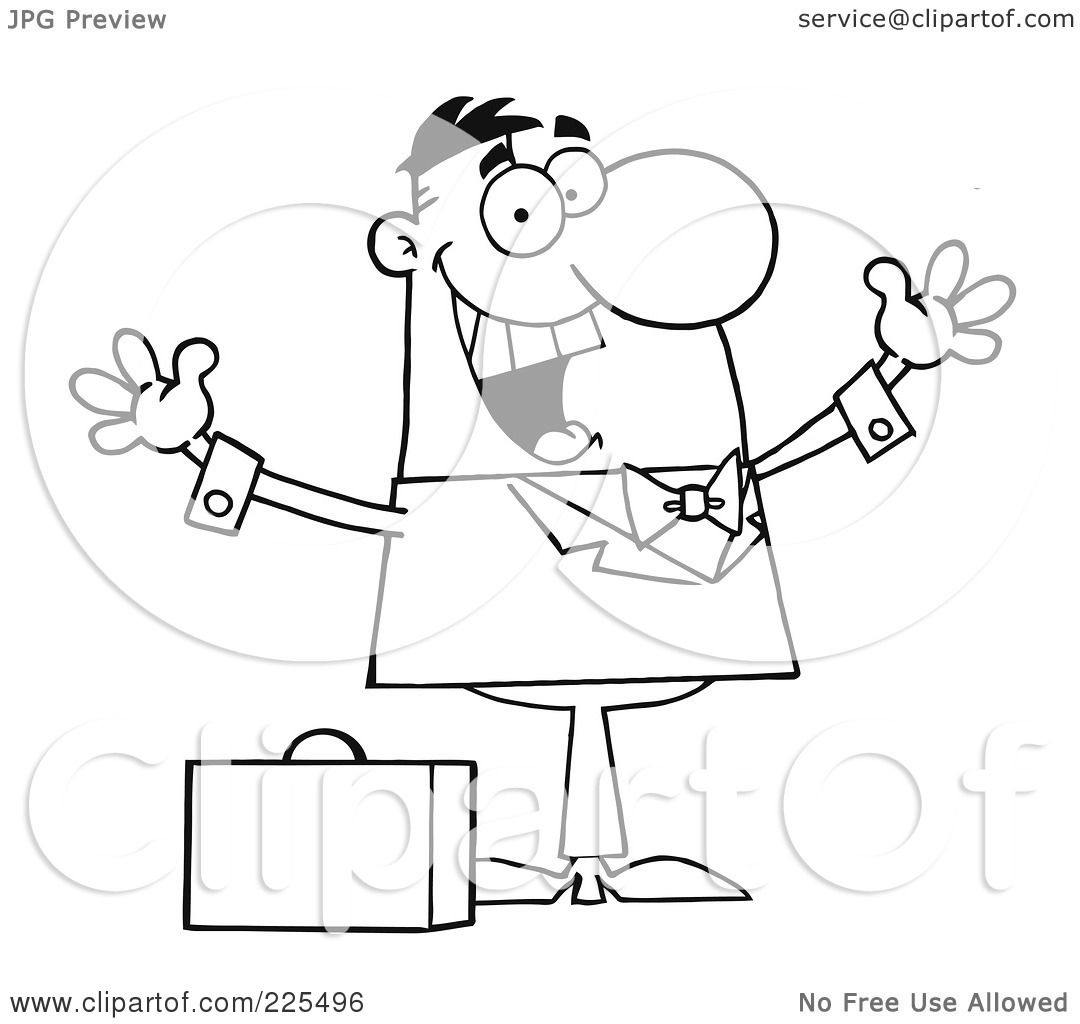 Briefcase Pages Coloring Pages